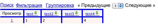 Таблица после загрузки своего CSS файла